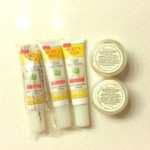 burt's bees skincare bundle lot 5